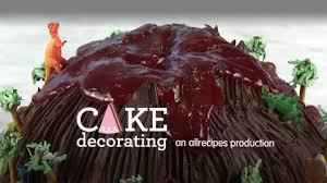 how to make a volcano cake video allrecipes com