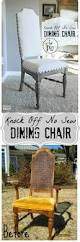 knock off no sew dining chairs chair makeover dining chairs and