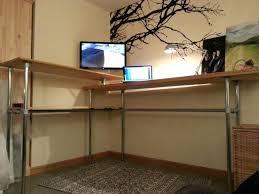 Standing Corner Desk Standing Corner Desk Unit Converter Adjustable Poikilothermia Info