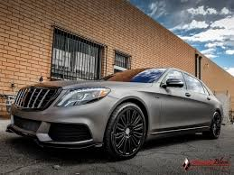 mercedes benz maybach mercedes benz maybach s600 v12 wrapped in charcoal matte metallic
