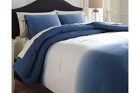 Blue And White Comforters Comforters Ashley Furniture Homestore