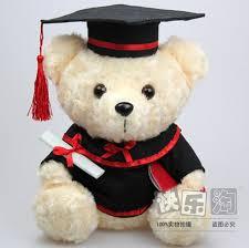 graduation bears 1 pcs 25 cm dr graduation teddy plush doll boy girl