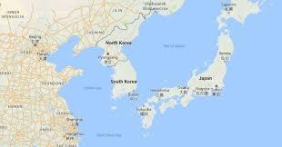 map us and korea korea may not detected u s bombers near its border