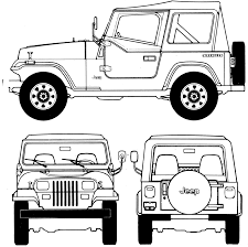 white convertible jeep convertible blueprints download free blueprint for 3d modeling