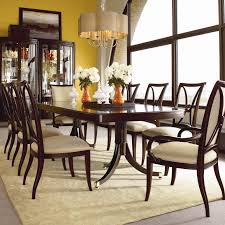 Kathy Ireland Dining Room Set Extra Large 16 Foot Triple Pedestal Mahogany Dining Table Home