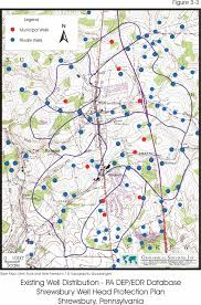 York Pennsylvania Map by Shrewsbury Borough York County Pa Wellhead Protection Program