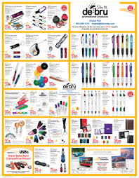 de bru sales ltd promotional products swag swag promotional