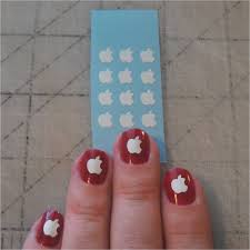apple nail art choice image nail art designs