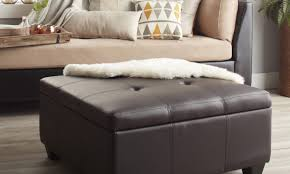 Overstock Ottoman Storage by Tips On Coordinating An Ottoman With Your Living Room Overstock Com
