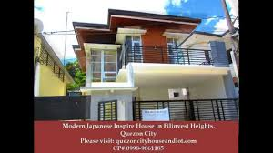 modern japanese inspired house for sale in filinvest heights