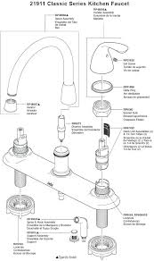pfister kitchen faucet parts price pfister parts delta kitchen faucet parts diagram intended for