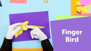 how to make a paper bird puppet superhands easy crafts diy