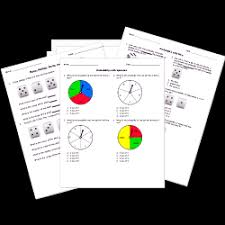 statistics and probability tests and worksheets for printable or