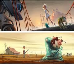 7 art monsters aliens images