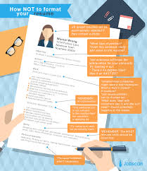 formatting your resume resume templates guide jobscan the wrong way to use a resume template