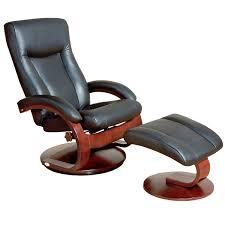 amazon com oslo 54 series leather swivel recliner and ottoman set