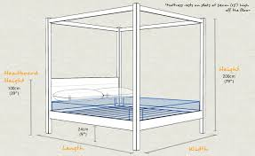 how to build a four poster bed frame ehow uk four poster bed classic bed sizes bedrooms and industrial