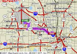 map qwest mapquest driving directions