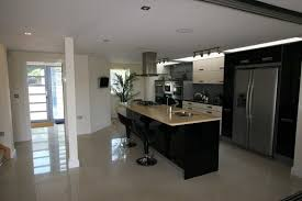black gloss kitchen ideas what colour of floor for black white kitchen page 1
