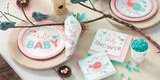 hello baby shower hello girl baby shower party supplies party city