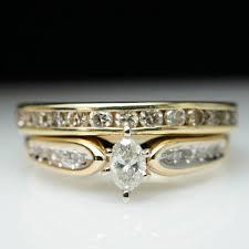 vintage estate engagement rings sale vintage estate 80ctw marquise cut engagement ring