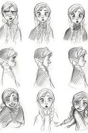 Coloring Extraordinary Frozen Anna Drawing Disney Coloring