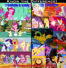 Mlp Fim Meme - know the difference mlp fim vs g1 parody meme by elfman83ml on