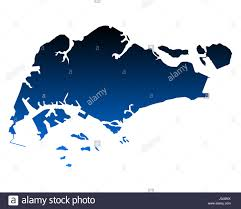 Map Of Singapore Map Of Singapore Stock Photo Royalty Free Image 138084938 Alamy