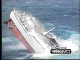 carnival paradise cruise ship sinking the sinking of the cruise ship oceanos youtube