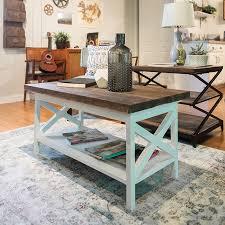 white farmhouse coffee table farmhouse coffee table hack regarding amazing home remodel two tone