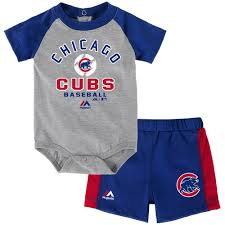 cubs newborn fan club chicago cubs women s royal deed tank short set by concepts sport