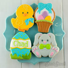 Easter Cupcake Icing Decorations by 240 Best Easter Cookies Images On Pinterest Easter Cookies