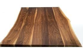 planche de bureau bureau en bois brut panneau noyer massif traversant ep28mm planche