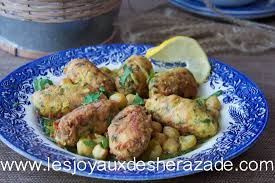 cuisine alg駻ienne facile el mhawet plat algérien facile les joyaux de sherazade