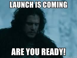 Meme Creator Winter Is Coming - launch is coming are you ready jon snow channelling ned s