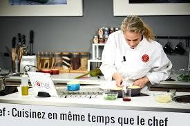 cours de cuisine atelier des chefs j ai testé un cours de cuisine en live avec ichef de l atelier des