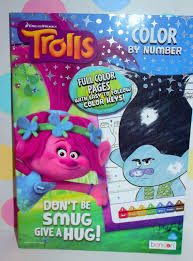 coloring book w crayons 4 pcs color by number scratch reveal