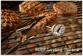 termometre cuisine a thermometer to cook steaks burgers beef