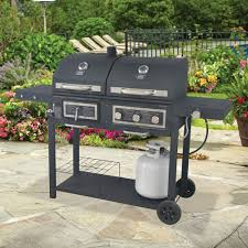 667 sq in gas charcoal grill shoptv