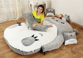 Bean Bag Sofa Bed by Implementation Kids Room Totoro Bed Sleeping Bag Sofa Bean Chair