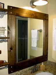 bathroom cabinets kirklands mirrors rustic wood mirror home
