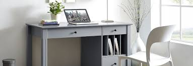 grey desk with drawers gray office desk warface co