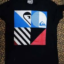 design baju quiksilver t shirt quiksilver men s fashion clothes on carousell