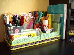 Diy Study Desk Creative And Useful Diy Desk Organizers