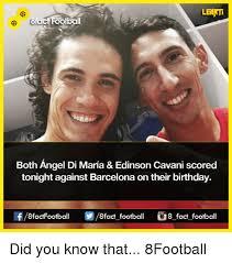 Arti Meme - learti atacf football both angel di maria edinson cavani scored