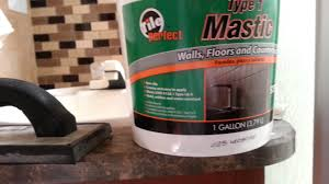 Installing A Backsplash In Kitchen by Installing A Backsplash In An Rv Part 1 Youtube