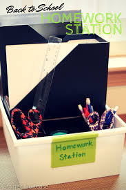 Kids Homework Station by Creating A Homework Station For Back To