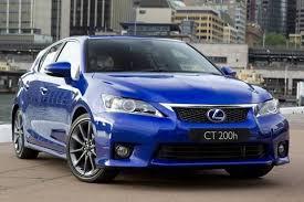 2011 lexus f sport lexus debuts f sport package for ct200h autotrader