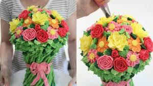 flower cake buttercream flower cake