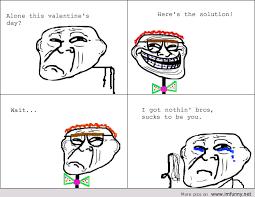 Alone On Valentines Day Meme - meme alone valentine s day